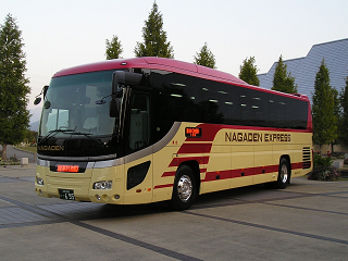 Nagaden Bus Co., Ltd. Bus