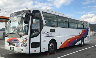 Kyusyu Sanko Bus Co., Ltd.  Bus